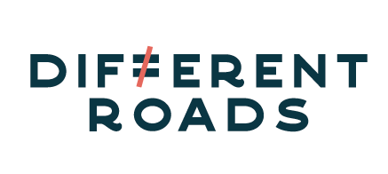 different roads logo small